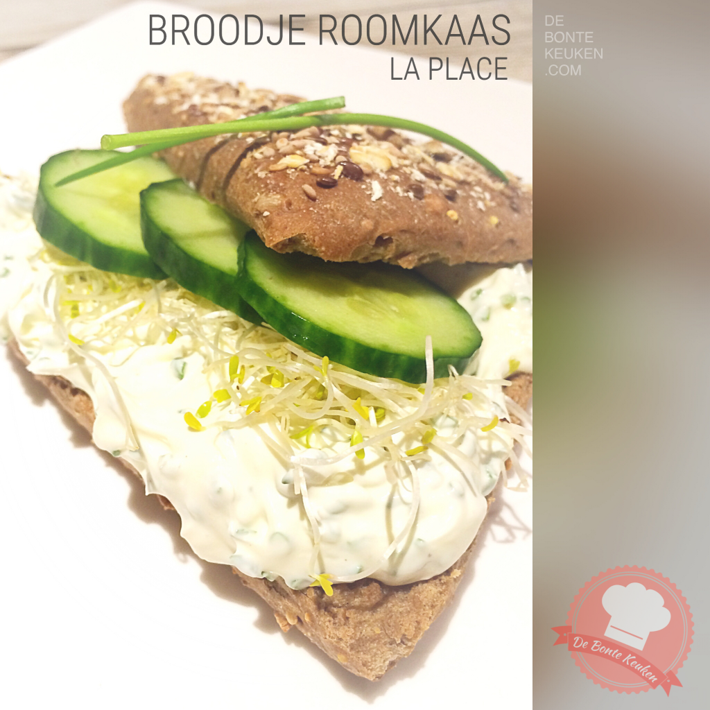 Broodje roomkaas a La Place