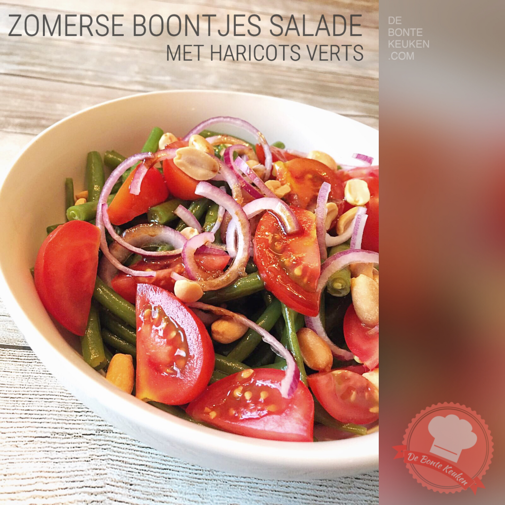 Zomerse boontjes salade